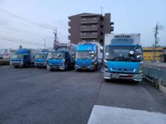 新車:4tトラック2台が、納車しました!